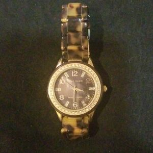 Anne Klein  tortoiseshell watch